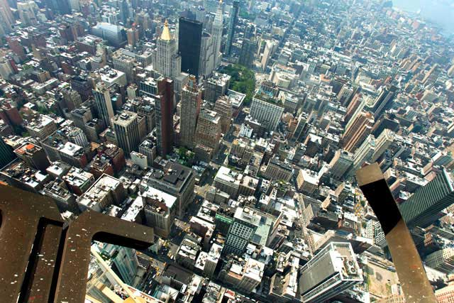 Welcome to the secret aerie big apple dayze for 103rd floor empire state building