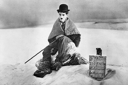 chaplin-the gold rush